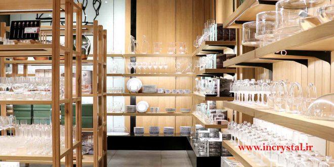 محصولات بلور و شیشه اصفهان