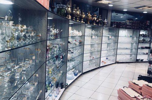 پخش عمده بلور و شیشه اصفهان